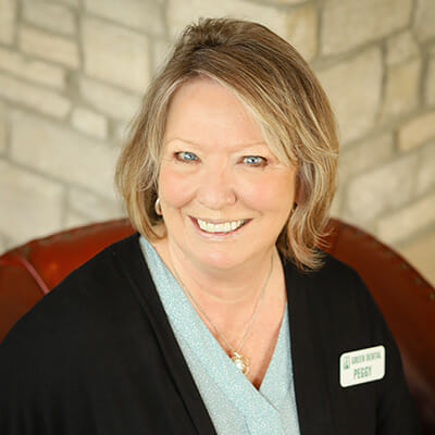 Peggy the Treatment Coordinator at Green Dental